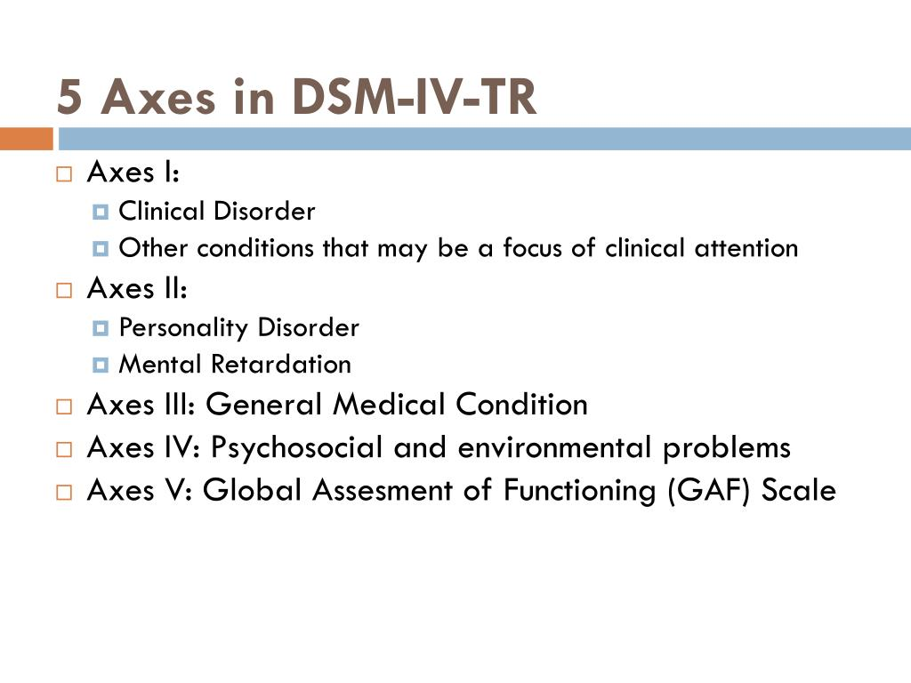 PPT - Diagnosis multiaksial PowerPoint Presentation - ID:3302986