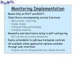 monitoring implementation
