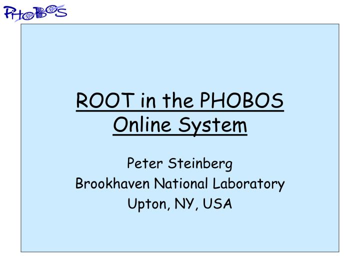 root in the phobos online system n.