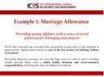 example 1 marriage allowance