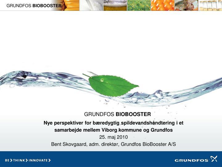 Nye perspektiver for bæredygtig spildevandshåndtering i et