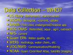 data collection who