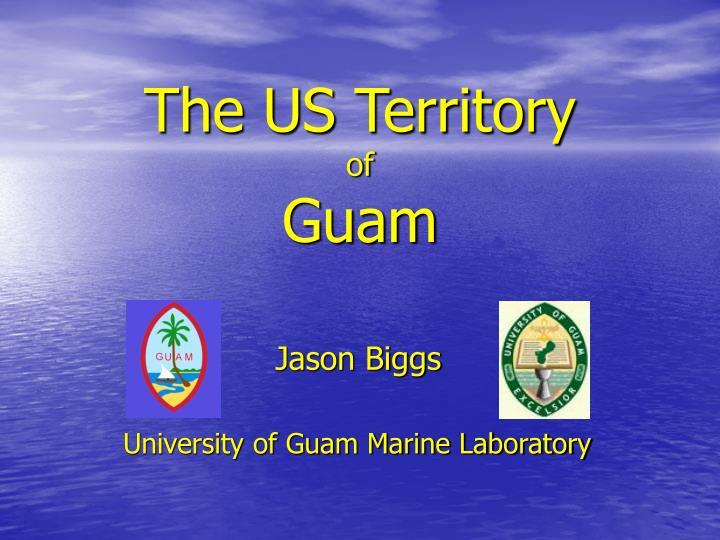 the us territory of guam n.