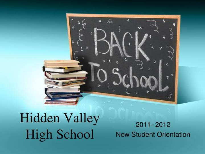 hidden valley high school n.