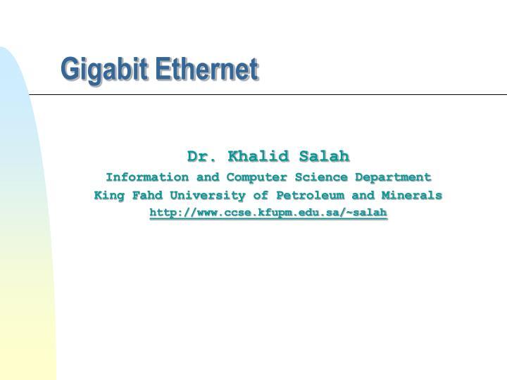 gigabit ethernet n.