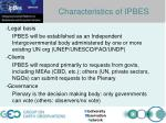 busan outcome functions of ipbes