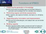 busan outcome functions of ipbes1