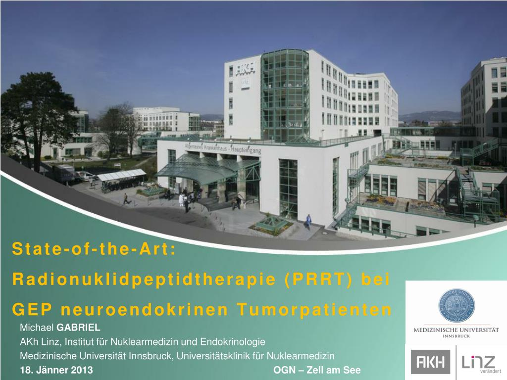 Ppt State Of The Art Radionuklidpeptidtherapie Prrt Bei Gep
