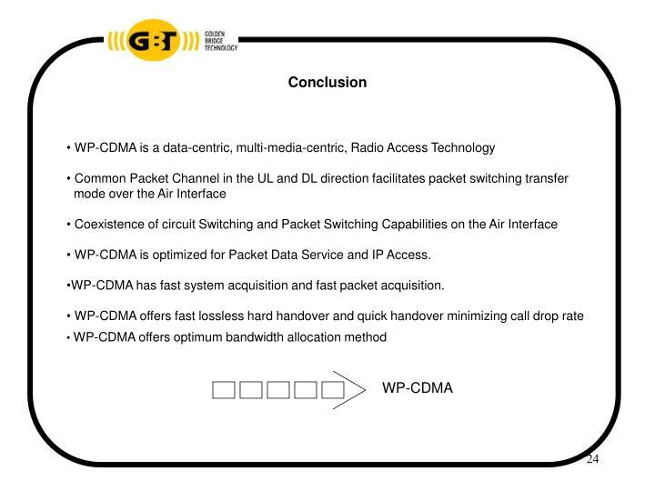 WP-CDMA
