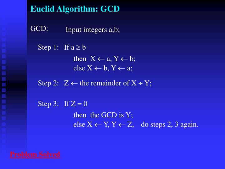 euclid algorithm gcd n.