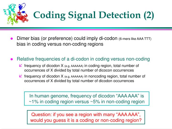 Coding Signal Detection (2)