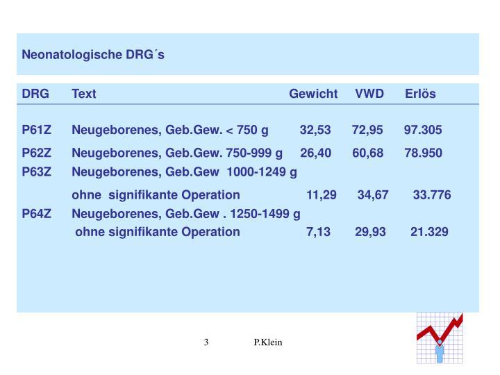Neonatologische drg s2