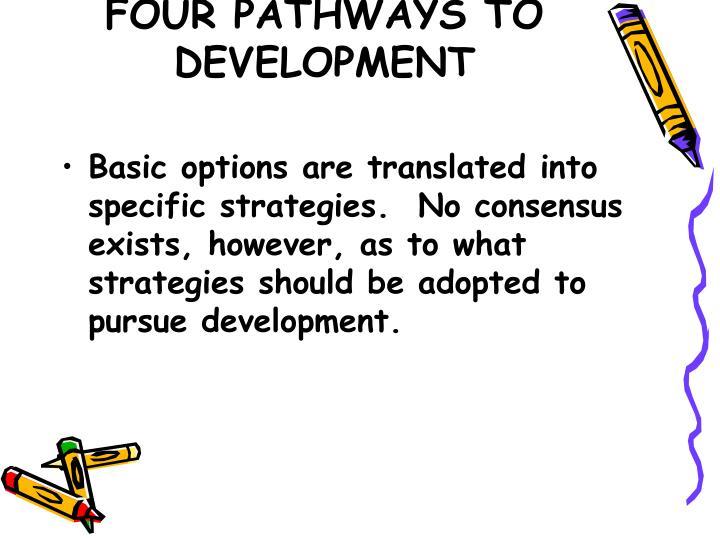 four pathways to development n.