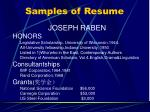 samples of resume2
