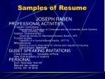 samples of resume3