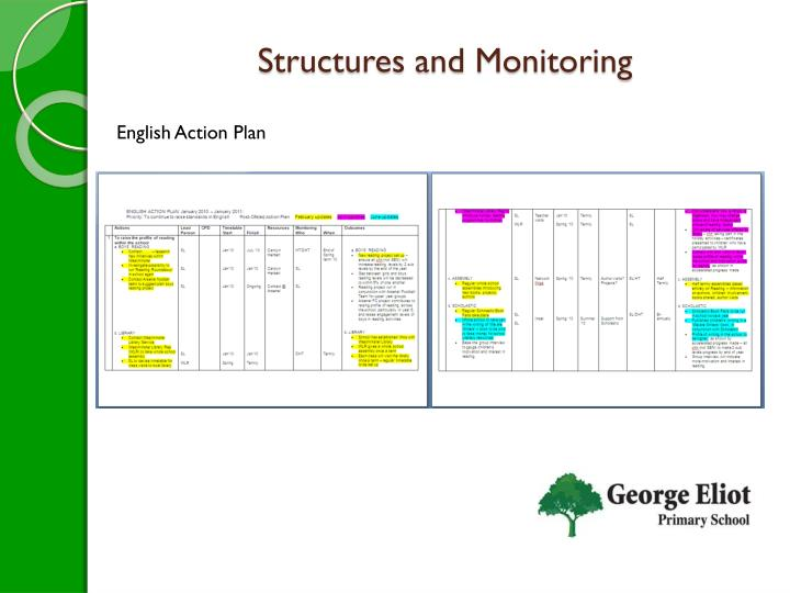 Structures and Monitoring