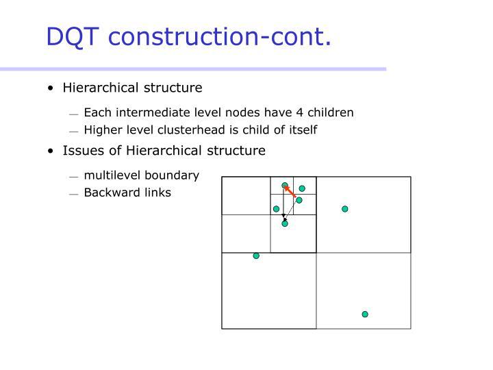 DQT construction-cont.