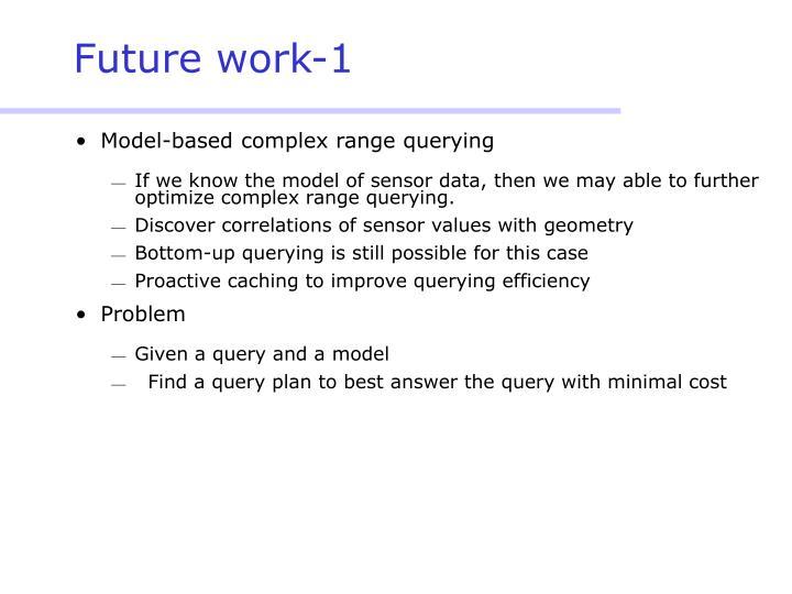 Future work-1