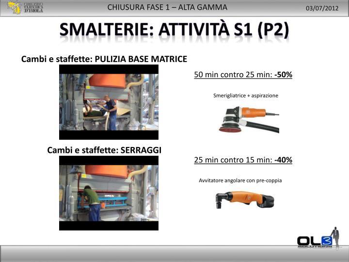Smalterie: attività s1 (p2)