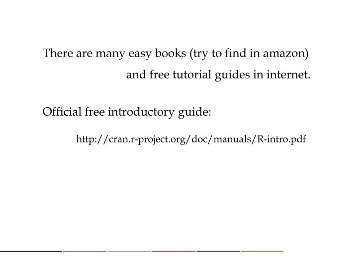 There are many easy books (try to find in amazon)
