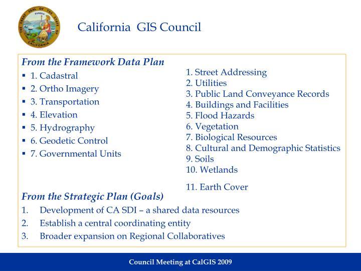 California  GIS Council