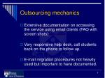 outsourcing mechanics1