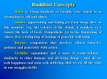 buddhist concepts