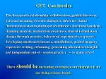 cft can involve