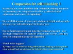 compassion for self attacking 1