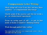 compassionate letter writing