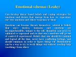 emotional schemas leahy