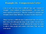 example 2a compassionate letter