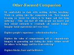 other focused compassion