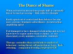the dance of shame