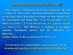 the undesired unattractive self