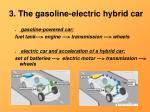 3 the gasoline electric hybrid car