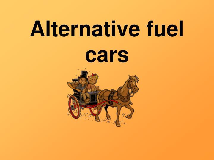 alternative fuel cars