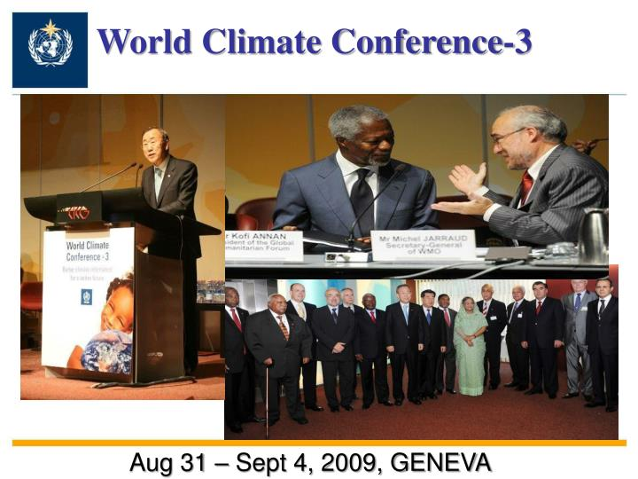 World Climate Conference-3