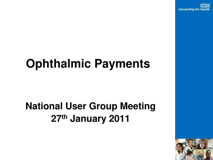ophthalmic payments n.