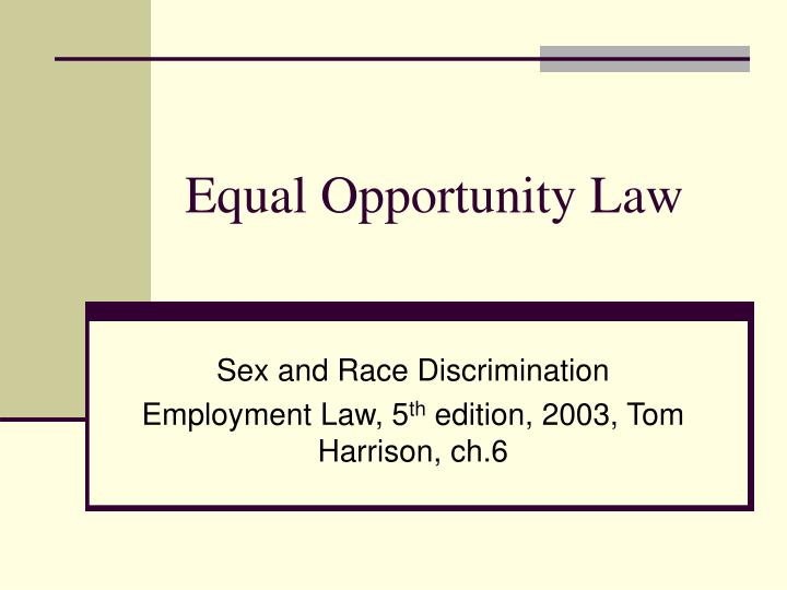 equal employment opportunity laws in pakistan The equal employment opportunity commission (eeoc) oversees equal employment in the federal workplace if you are a federal employee, a member of a protected class, and have been discriminated against at work, we want to talk to you call our law firm today at 888-351-0424 to.