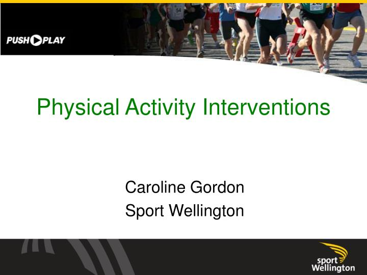 physical activity interventions n.