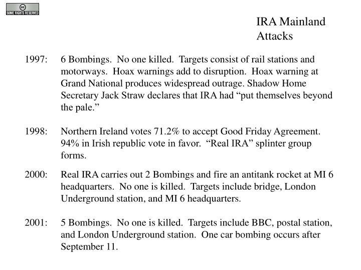 IRA Mainland