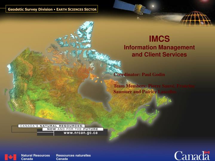 imcs information management and client services n.