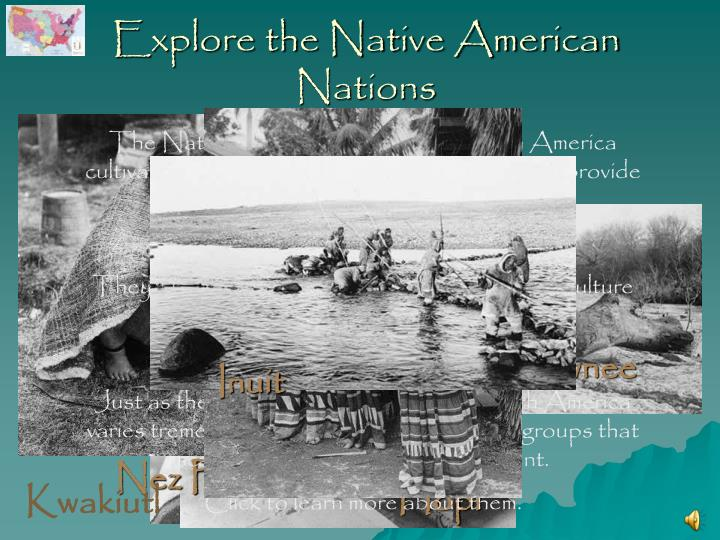 explore the native american nations n.