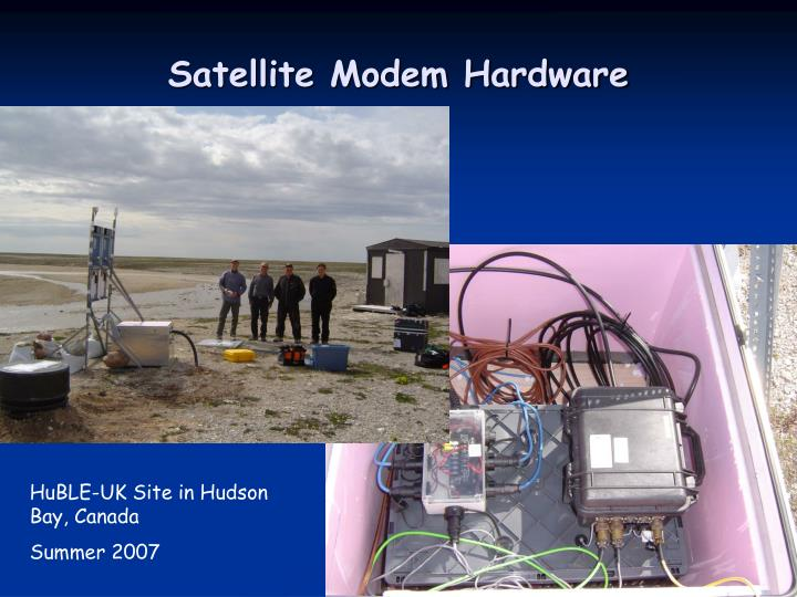 Satellite Modem Hardware