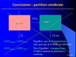 conclusion partition c r brale