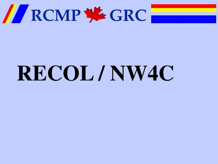 RECOL / NW4C