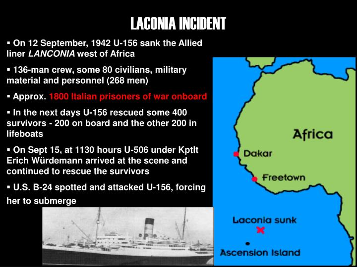 LACONIA INCIDENT