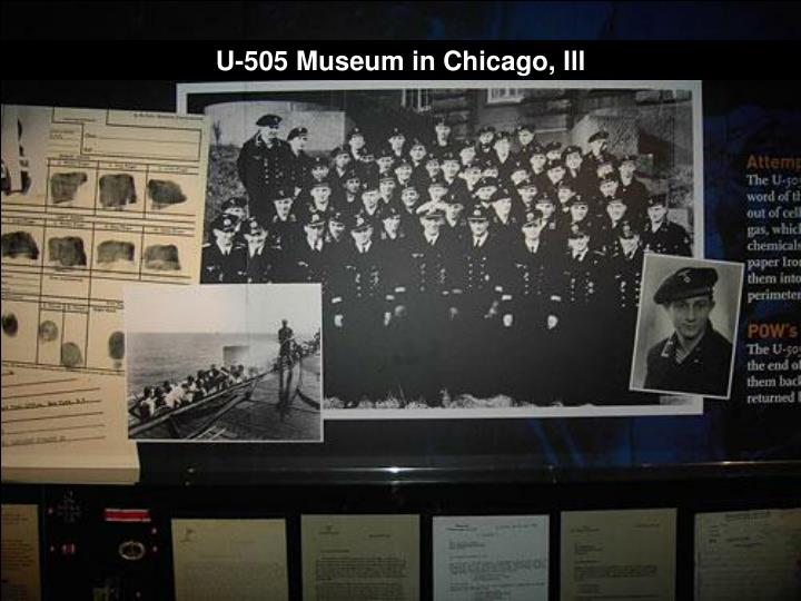 U-505 Museum in Chicago, Ill