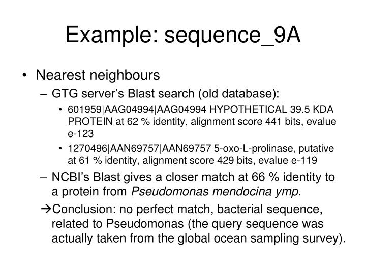 Example: sequence_9A